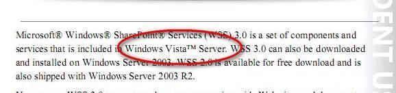Vista Server